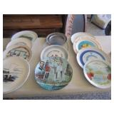 13-Post Master collector plates & Collector Plate