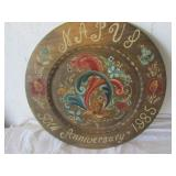 National Assoc. of Postmaster of US Platter 16in.