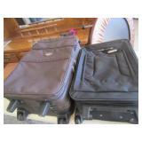 Concourse & American Overnight Suit cases