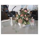Misc. Vases & Flowers