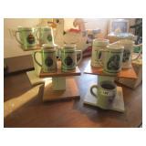 Assortment of Military Mugs 12 total