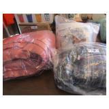 Wool Blanket & 2 sets of Flannel Sheets