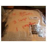 3pc. Towel Set & 4 new towels, 3 lg. & 1 reg.
