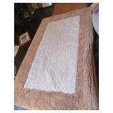 2lg. rugs 42x36