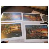 Jim Hansel Prints, 3 Prints