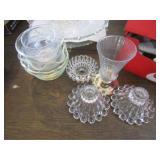 Glassware Bowls, Platters & Desert Glasses