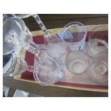 Souvenior Glassware, Mug, Plastic Bowls (6)