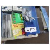 Office Supplies & Lap Top Item