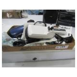 2-Curling Irons, Hair Dryer, Clothes Steamer