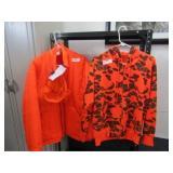 Hunting Jacket sz L, Cap & Hooded sweatshirt