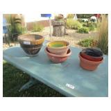 Flower Pots & Table