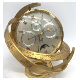Rare Dunhill Gyroscope Presentation Desk Clock