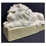 Large Ceramic Lion Statue
