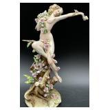 Rare Capodimonte Bisque Porcelain Figurine