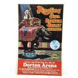 Vtg Circus Poster Ringling Bros / Barnum & Bailey