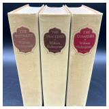 William Shakespeare Three Vol. Hardcover Book Set