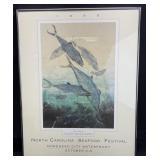 Vintage North Carolina Seafood Festival Poster