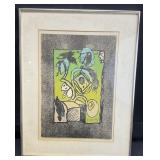 Pierre Alechinsky Signed/Numbered Lithograph