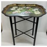 Painted by Galley for Keller Charles Tray on Stand