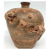 Catfish Decorated Jar