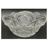 Beautiful Antique Cut Glass Bowl
