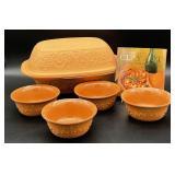 Romertopf Clay Cooking Pot and Bowls