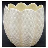 Belleek Cream Colored Vase