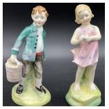 Pair of Royal Doulton Figurines