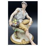 Capodimonte Giuseppe Cappe Porcelain Figurine