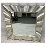 Modern Silver Designer Mirror