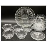 12pc Heisey Glass