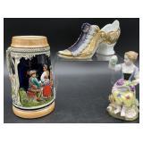 Antique / Vintage Porcelain Figurines & Mug