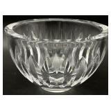 Orrefors Signed Art Glass Crystal Bowl