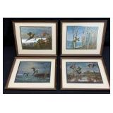 4pc Game Hunting Wall Art Group