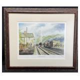 Christopher Ware S/N Levisham Train Station Art
