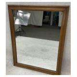 Maple Wall Hanging Mirror