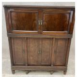 Antique Record Cabinet - Missing Internals