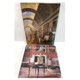 The Louvre & English Country Hardcover Book Group