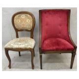 Pair of Vintage Upholstered Chairs
