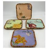 Silvestri Decoupage Plates by Peggy Turchette