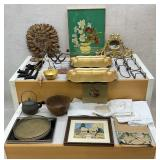 Assorted Lot of Decor Items