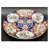 Gold Imari Hand Painted Charger Plate