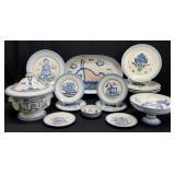 15PC M.A. Hadley Pottery Set