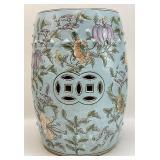 Chinoiserie Ceramic Garden Stool