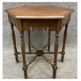 Antique Octagonal Center Table