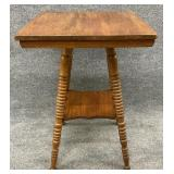 Antique Spool Carved Center Table