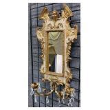 Florentia Italian Baroque Style Gilded Wall Mirror