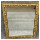 Antique Framed Gold Mirror