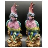 Pair of 18in Decorative Birds