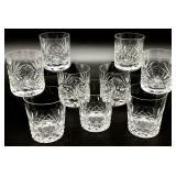 9pc Crystal Highball Glasses